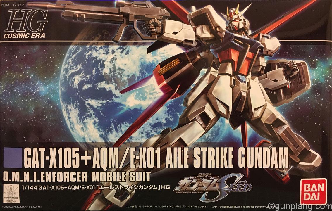 エールストライクガンダム GAT-X105+AQM/E-X01 AILE STRIKE GUNDAM 機動戦士ガンダムSEED